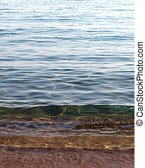 Calm Sea - Calm sea with clear water