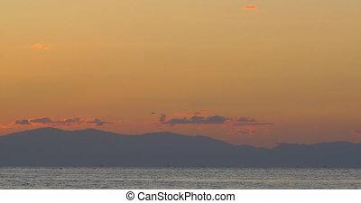 Calm Sea in Twilight