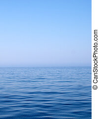 Calm Sea - Calm blue Mediterranean sea