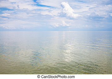 calm water surface Sea of Azov - natural background - calm...
