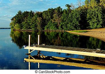 Calm Waters at Strongs Prairie