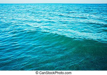 calma, mar, océano