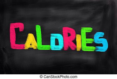 caloria, conceito
