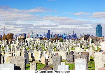 calvário, cemitério