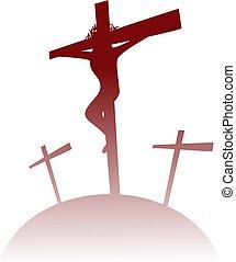 calvary icon - easter icon
