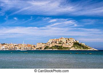 Calvi, Corsica, France, Europe - Calvi - Colorful coastal ...