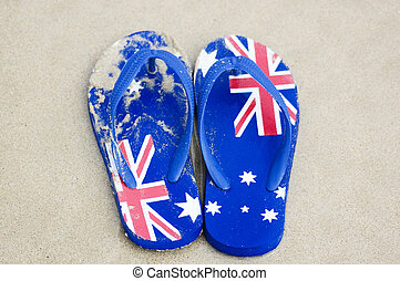 calzado, australiano
