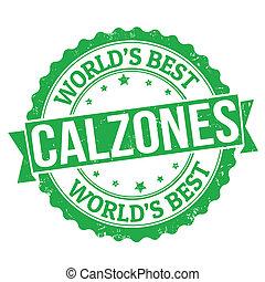 Calzones stamp