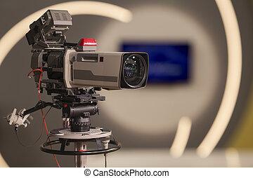 caméra télévision