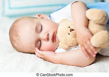 cama bebê, dormir