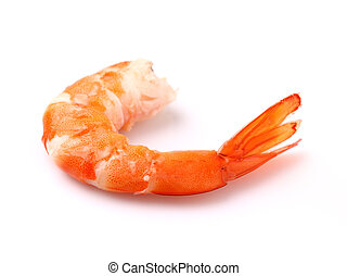 camarão, em, closeup