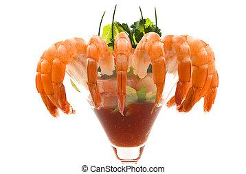 camarón cóctel