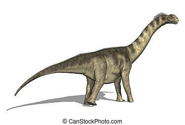 Camarasaurus Dinosaur - The Camarasaurus dinosaur lived in...
