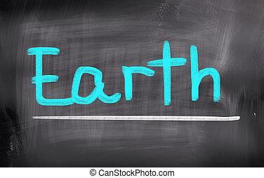 cambiamento clima, concetto