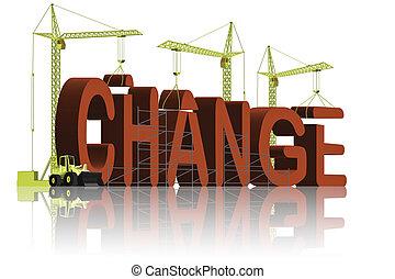cambiamento, fabbricazione