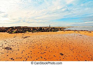 Cambo Beach, fife, Scotland
