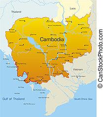Cambodia country