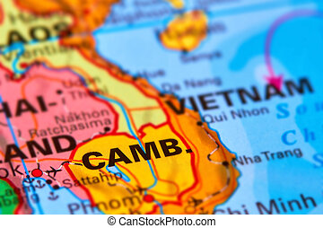 Cambodia on the Map