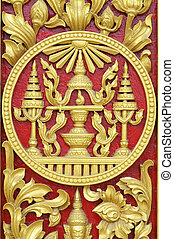 Cambodia Royal symbol - Royal symbol in Phnom Penh, Cambodia