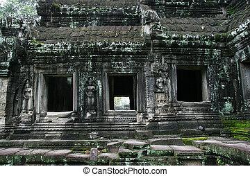 Angkor Wat - Cambodian Angkor Wat temple complex
