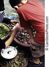 Cambodian market- Phnom Penh, Cambodia
