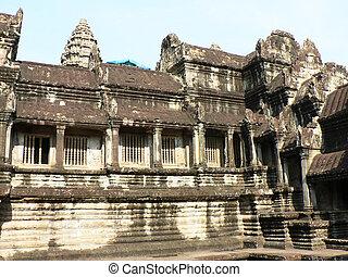 Cambodian temple.