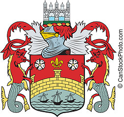 Cambridge city coa - Various vector flags, state symbols,...