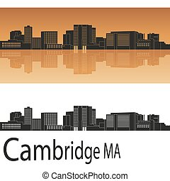 Cambridge MA skyline