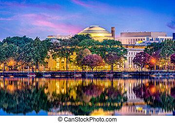 Cambridge Massachusetts Skyline