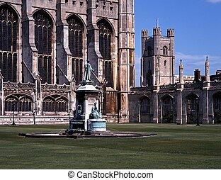 cambridge, reyes, colegio, uk.