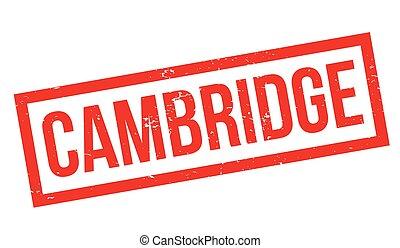 Cambridge rubber stamp