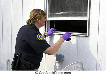 cambriolage, police, investigation