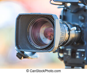 camcorder, ビデオカメラ, レンズ