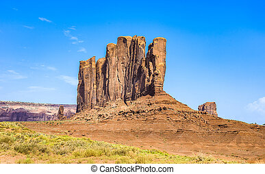 Camel Butte is a giant sandstone formation in the Monument...