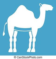 Camel icon white
