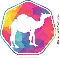 Camel logo design.
