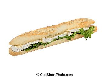 Camembert baguette