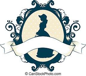 Cameo Ribbon Design