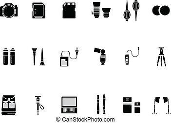Camera Accessories Icon