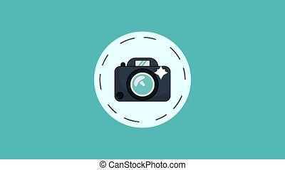 Camera and camcorder HD animation - Camcorder and...
