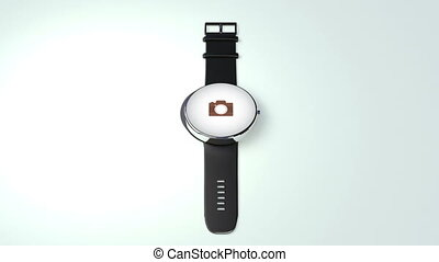 Camera application function for Smart watch - Explain...