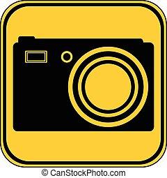 Camera button.