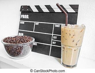 camera clap - Camera clap breaking coffee time