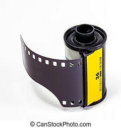 film, nagative film, isolate, nobody, white, white background, r