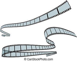 Camera Film Strip background
