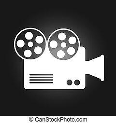 camera film design, vector illustration eps10 graphic