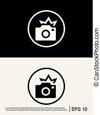 Camera Flash Icon Template