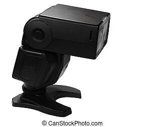 Camera Flash isolated on white