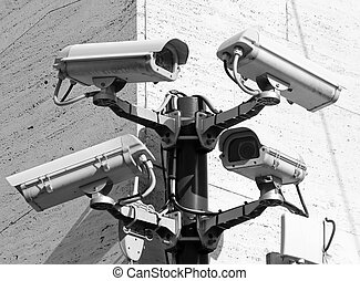 Camera for video surveillance and control in a very...