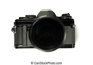 Camera, front view